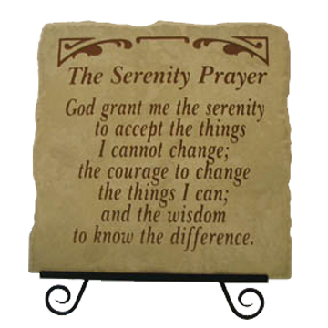 prayer cannot change things discuss 10 things you can't change and 10 things you can things you can change: your prayer life i have been preaching to them about how we cannot change some things.