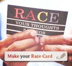 Welcome to The Race Card Project!