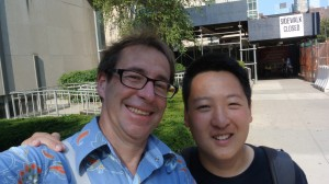 nic-and-george-at-fordham-2013