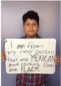 I am Mexican Black and American