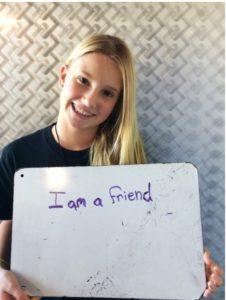 I am a friend